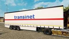 Vorhang Auflieger Krone TransiNet