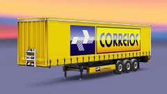 Correios Logistic Haut für Anhänger