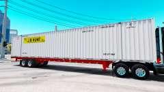 Auflieger container-J. B. Hunt