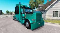 4 Metallic-skin für den truck-Peterbilt 389