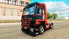 Spencer-Hill-skin für den truck, Mercedes-Benz