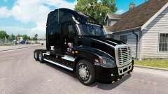 Haut auf dem KTS truck Freightliner Cascadia