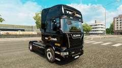 Tegma Logistique de la peau pour Scania camion