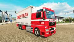H. Essers-skin für MAN TGX-LKW-Traktor Tandem