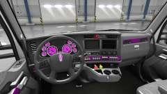 Intérieur Cadran Rose pour Kenworth T680