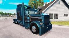 2 Metallic-skin für den truck-Peterbilt 389