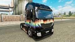 Rainbow Dash skin für Iveco-Zugmaschine