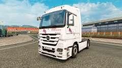 La peau BGL pour tracteur Mercedes-Benz