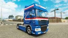 H. Z. le Transport de la peau pour DAF camion