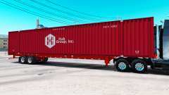 Auflieger container-Hub Group Inc