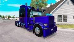 3 peau Métallique pour le camion Peterbilt 389