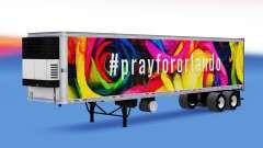 Haut PrayForOrlando auf den trailer