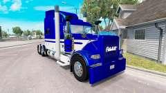 La peau de l'Équipement Express camion Peterbilt
