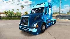 Le feu de la peau pour les camions Volvo VNL 670