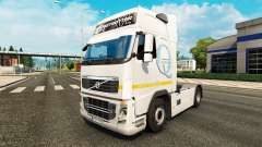 La peau Q-Meieriet pour Volvo camion