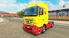 Sinalco de la peau pour Mercedes Benz camion