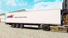 Haut LOXX Logistik für semi-refrigerated