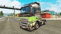 Brasil 2014 de la peau pour Volvo camion