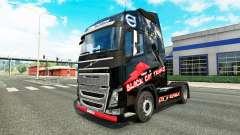 La peau de Chat Noir Trans pour Volvo camion