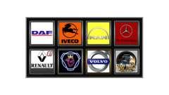 Logos von realen Firmen