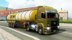Une collection de camion de transport pour le tr