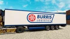La peau Burris Logistique pour les semi-frigorif