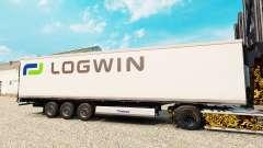 La peau Logwin de la Logistique pour les semi-fr