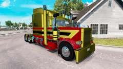 Peaux Métalliques 7 pour le camion Peterbilt 389