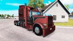 Peau métallique pour le camion Peterbilt 389