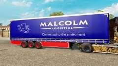 Rideau semi-remorque Krone Malcolm