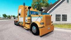 Haut für Tschad Blackwell Peterbilt 389 Traktor