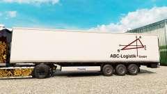La peau de l'ABC-Logistique pour les semi-frigor