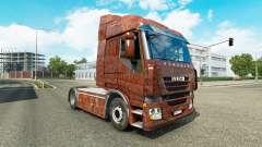 La peau de Rouille sur le camion Iveco