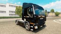 Tegma Logistique de la peau pour Iveco tracteur