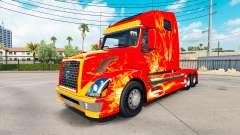 Feuer skin für den Volvo truck VNL 670