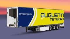 Semi-trailer-Kühlschrank Chereau Augustin Networ
