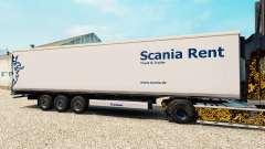 La peau Scania Louer pour les semi-frigorifique