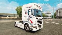 Intermarche de la peau pour Scania camion