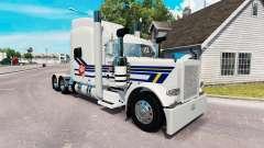 Burton LKW-skin für den truck-Peterbilt 389