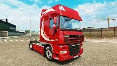 La peau Limited Edition v2.0 camion DAF