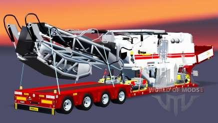 Low sweep mit einer Ladung Hobel für Euro Truck Simulator 2