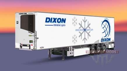 Semi-remorque frigo Chereau Dixon pour Euro Truck Simulator 2