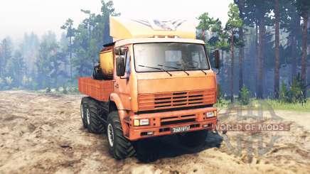 KamAZ-6522 für Spin Tires