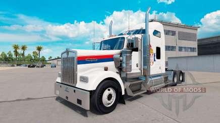 La serbie de la peau pour le Kenworth W900 tracteur pour American Truck Simulator