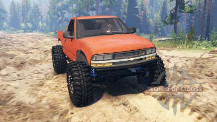 Chevrolet S-10 Crawler pour Spin Tires