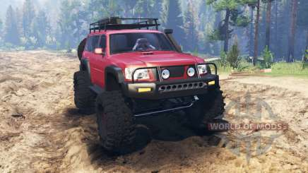 Nissan Patrol pour Spin Tires