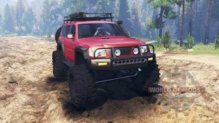 Nissan Patrol für Spin Tires