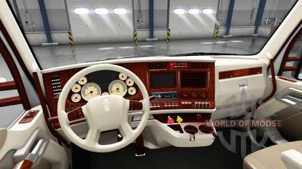 L'intérieur est Rétro Cadran pour Kenworth T680 pour American Truck Simulator