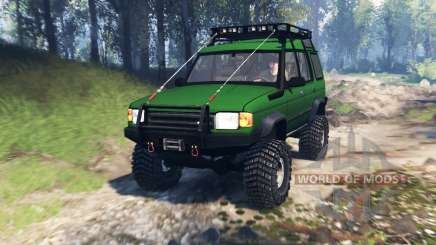 Land Rover Discovery v4.0 für Spin Tires