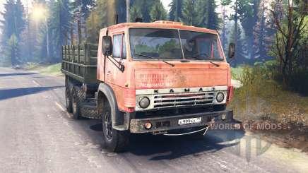 KamAZ-53212 v2.0 pour Spin Tires
